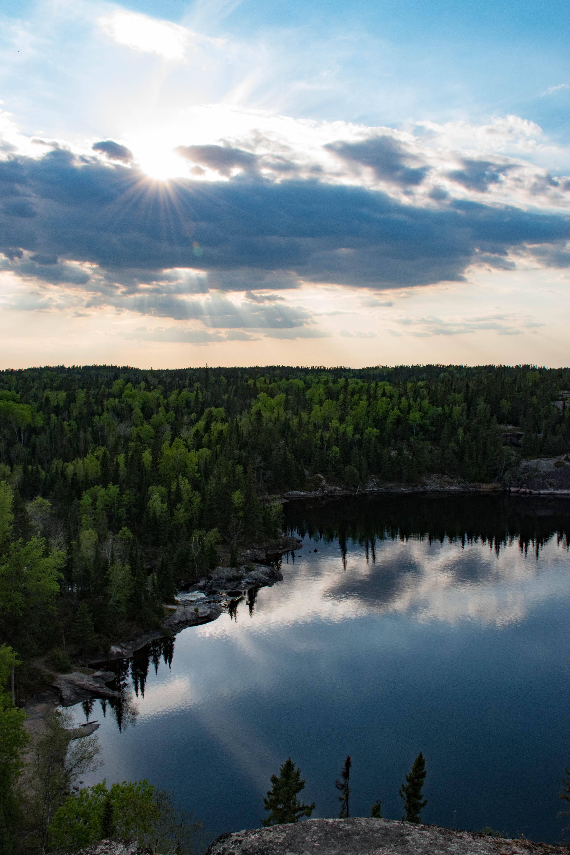Exploring Nopiming Provincial Park in Manitoba Canada  